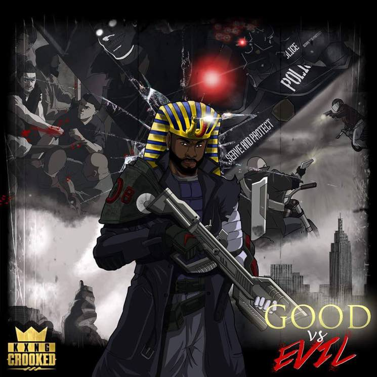 KXNG CrookedGood vs. Evil