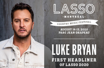 Lasso Montreal Gets Luke Bryan for Inaugural Edition