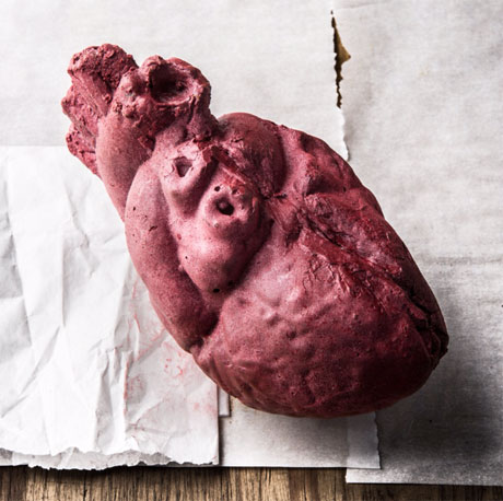The Flaming Lips Release Valentine's Comp in Anatomically Correct Chocolate Heart