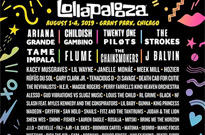 Lollapalooza Reveals Full 2019 Lineup with Ariana Grande, Childish Gambino, the Strokes