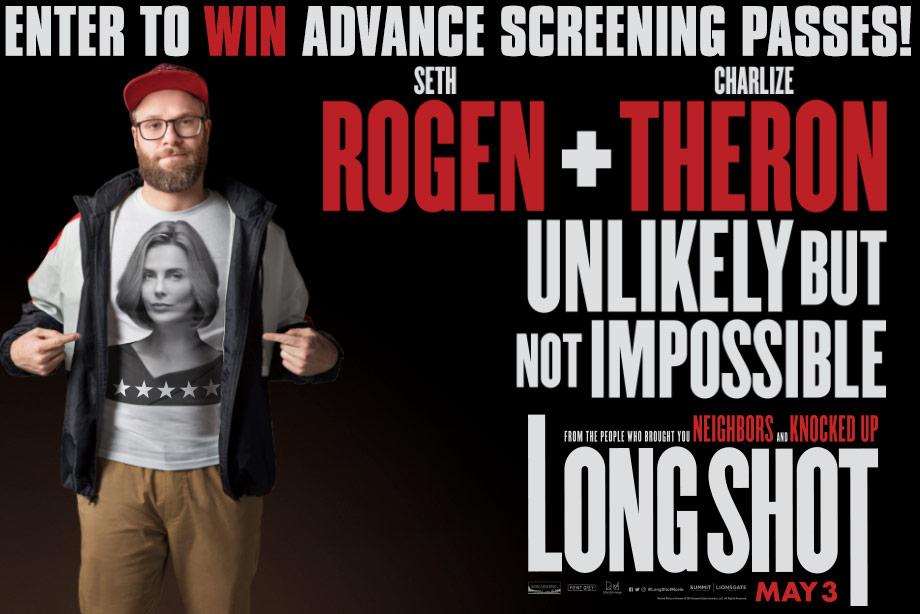 'Long Shot' - Win an Advance Screening Pass for Two!
