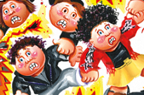 Arcade Fire, Morrissey, Death Cab for Cutie Grossly Toasted by Garbage Pail Kids