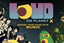 Canadian Indie Stars Convene for 'LOUD on Planet X' Videogame