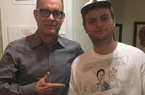 Mac DeMarco Met Tom Hanks While Wearing a Mac DeMarco and Tom Hanks Shirt