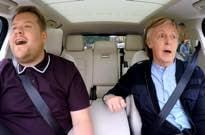 "Watch Paul McCartney Ride Along with James Corden on ""Carpool Karaoke"""