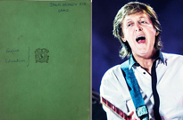Paul McCartney's English Class Notebook Heads to Auction