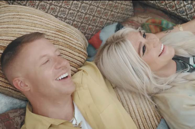 Macklemore And Kesha Get Campfire Cozy In 'Good Old Days' Video