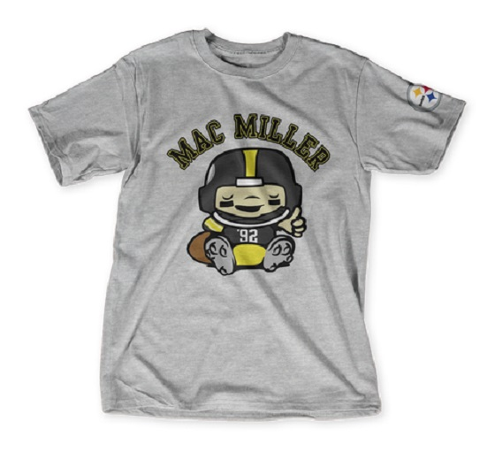 sale retailer 27e29 0faf2 NFL Teams Up with Mac Miller, Diplo, Underoath for Custom T ...