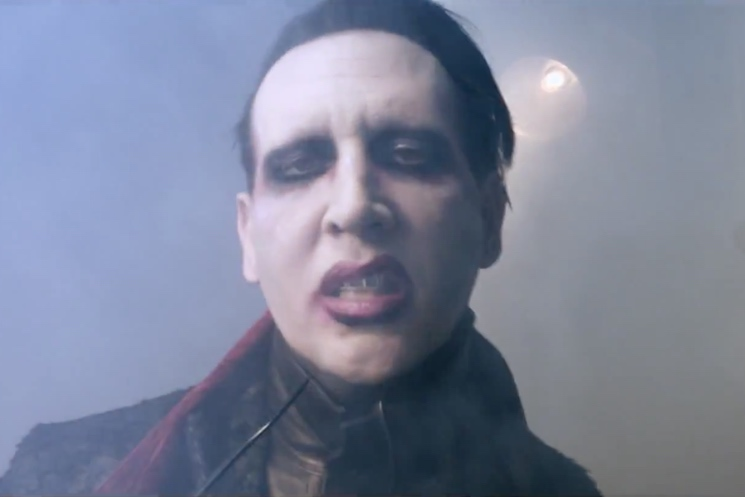 Marilyn Manson Third Day Of A Seven Day Binge Video