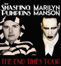 Smashing Pumpkins Team Up with Marilyn Manson for Tour