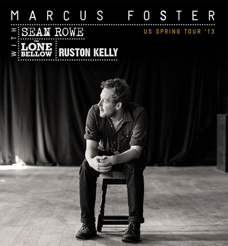Marcus Foster and Sean Rowe Team Up for North American Tour, Play Vancouver and Toronto