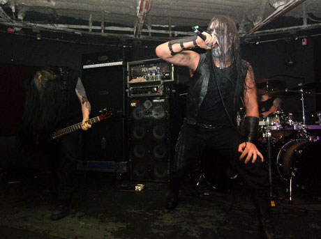 Marduk / Moonspell / Inquisition / The Foreshadowing / Death WolfThe Wreckroom, Toronto, ON, February 25