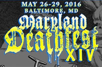 Maryland Deathfest Announces Initial 2016 Lineup