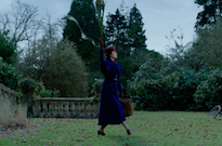 Mary Poppins Returns in the First Trailer for 'Mary Poppins Returns'