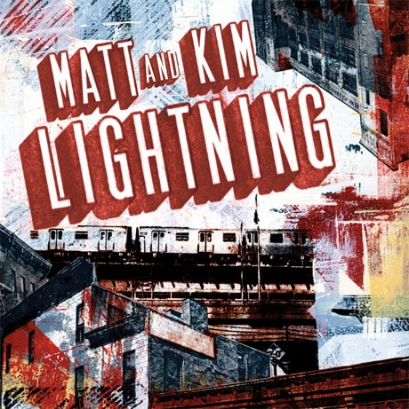 Matt & Kim Detail 'Lightning'