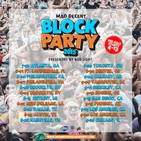 Mad Decent Block Party Reveals 2015 Lineup