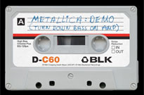 Metallica Reissue Demo Tape for Record Store Day