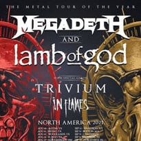 Megadeth and Lamb of God Reschedule North American Tour with Trivium and In Flames