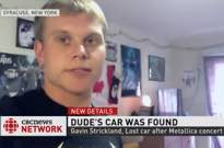 Syracuse Metallica Fan Finally Finds His Lost Car Following Toronto Show