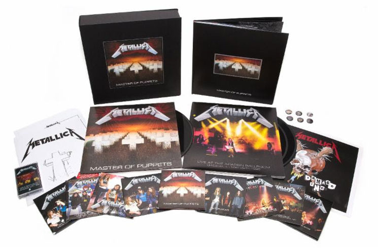 Metallica Releasing Remastered 'Master of Puppets' on November 10!