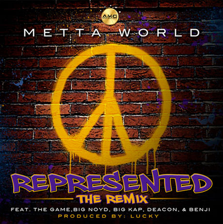 "Metta World Peace - ""Represented"" (remix) (ft. The Game, Big Noyd, Big Kap, Deacon & Benji)"