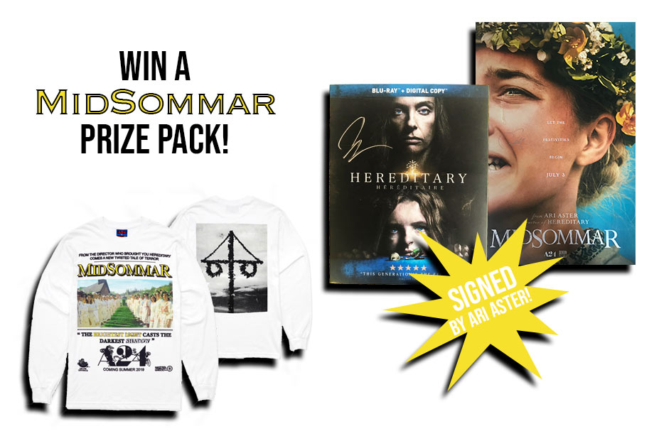 'Midsommar' – Win a Signed Poster and Blu-Ray, Plus a 'Midsommar' Sweater!