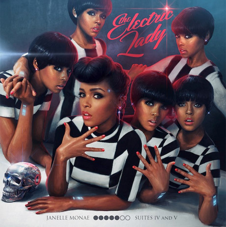 Janelle Monáe'The Electric Lady' (album stream)