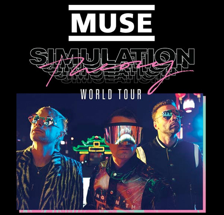 """Toyota Dallas Tx >> Muse Map Out """"Simulation Theory World Tour"""""""