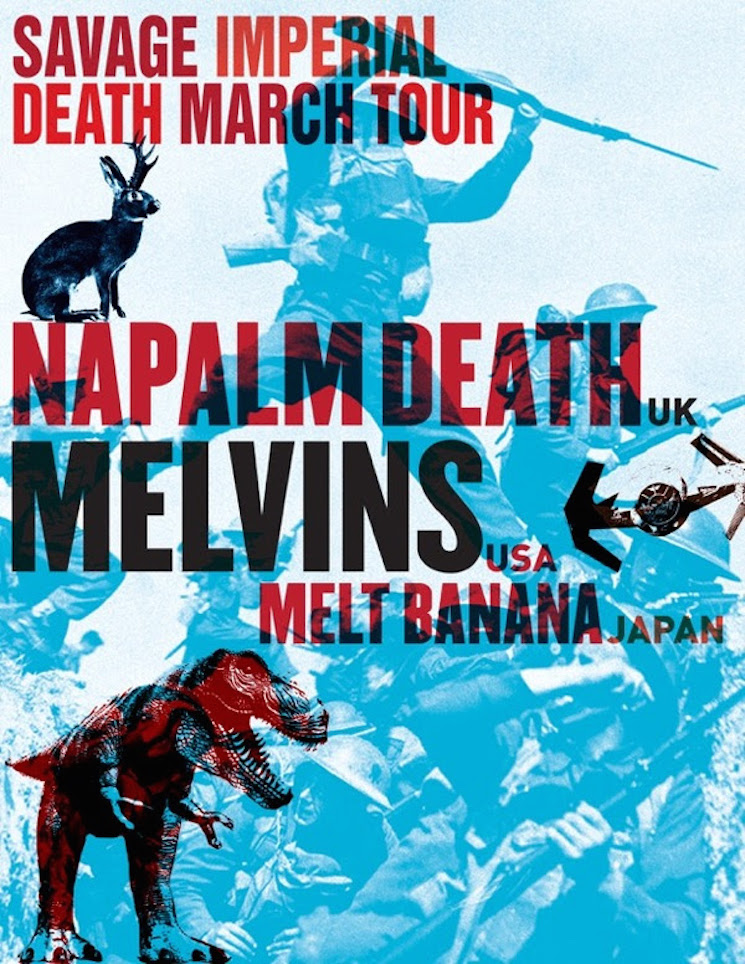 Napalm Death, the Melvins and Melt Banana Join Forces for North American Tour