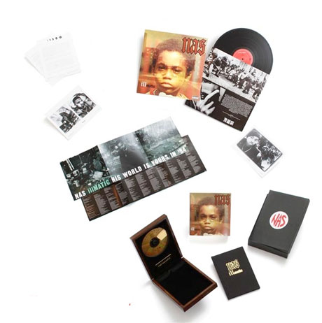 Details Revealed for Nas' Deluxe 'Illmatic' Box Set