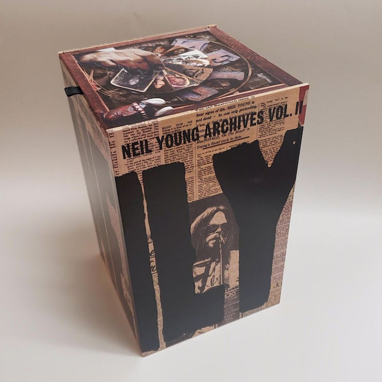 Neil Young Details 'The Archives Vol. II: 1972-1976' Box Set