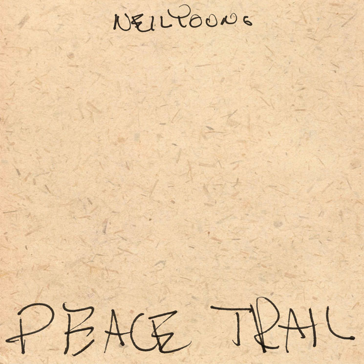 Neil Young'Peace Trail' (album stream)