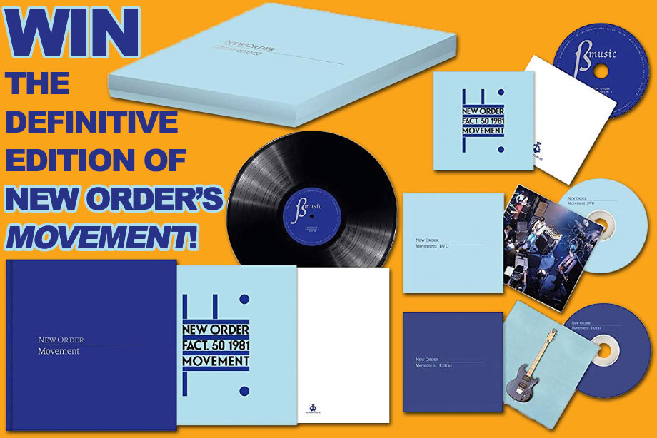 New Order - Win the Definitive Edition of Debut Album 'Movement'!