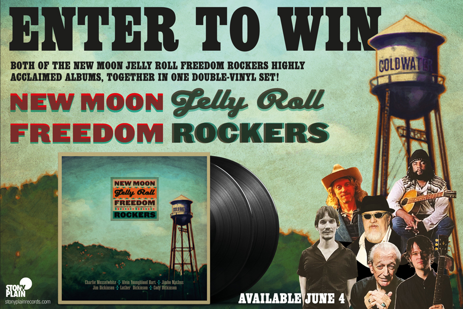New Moon Jelly Roll Freedom Rockers — Enter for Your Chance to Win a Double-Vinyl Set of Their Records!