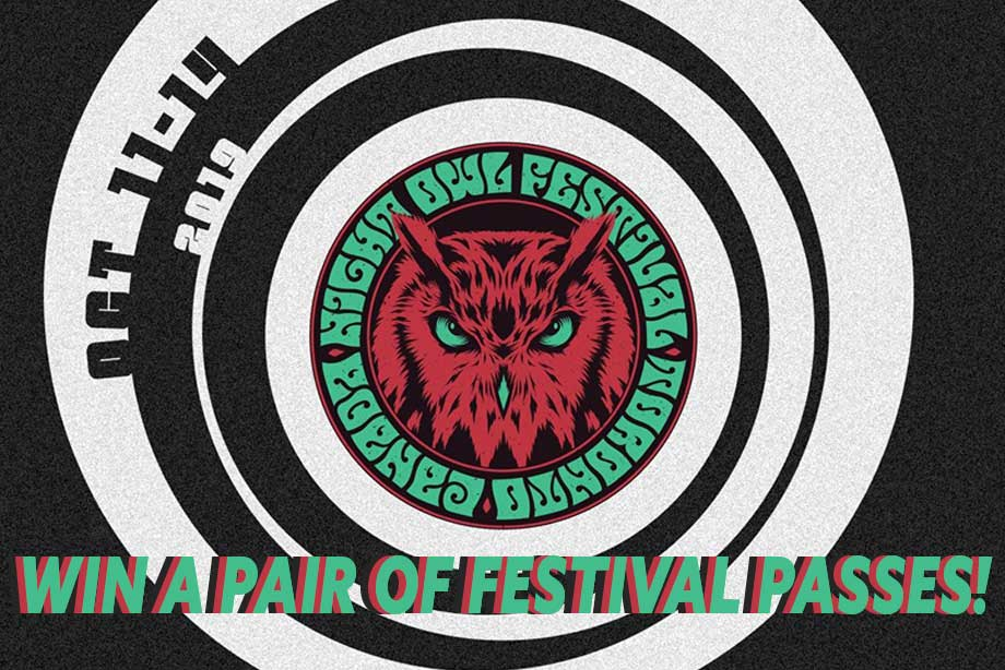Night Owl Festival – Win a Pair of Passes!