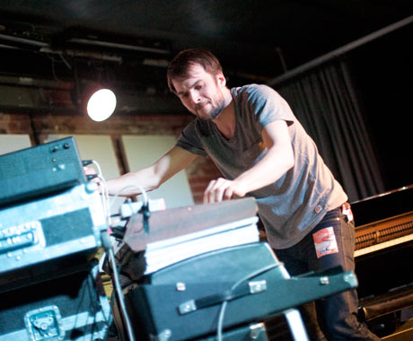 Nils Frahm Books North American Fall Tour