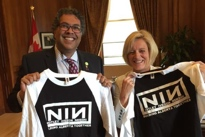 Edmonton Mayor Hints at Cease and Desist over Nine Inch Nails Parody Shirt