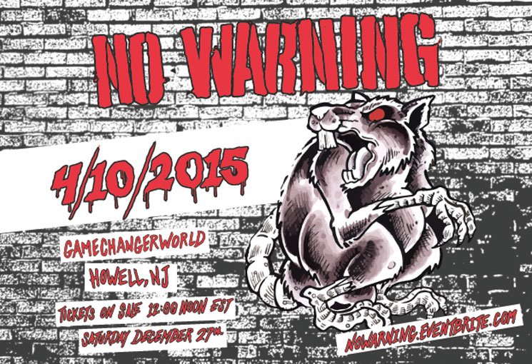 No Warning to Play First North American Show in 10 Years