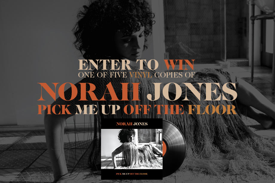 Norah Jones – Enter for a chance to win 'Pick Me Up Off the Floor' on vinyl!