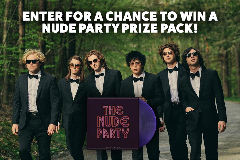 The Nude Party – Enter for a chance to win a 'Midnight Manor' prize pack!