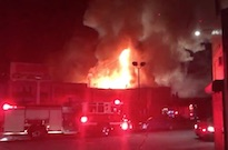 Multiple People Dead and Missing After Fire Breaks Out at 100% Silk Warehouse Party