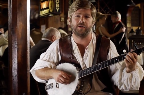 "Old Man Luedecke""Little Stream of Whiskey"" (video)"