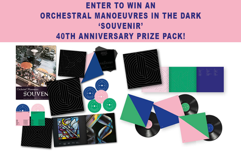 Orchestral Manoeuvres in the Dark - Enter to Win a 40th-Anniversary 'Souvenir' Prize!