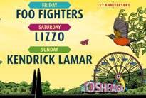 Foo Fighters, Lizzo and Kendrick Lamar to Headline Osheaga 2020