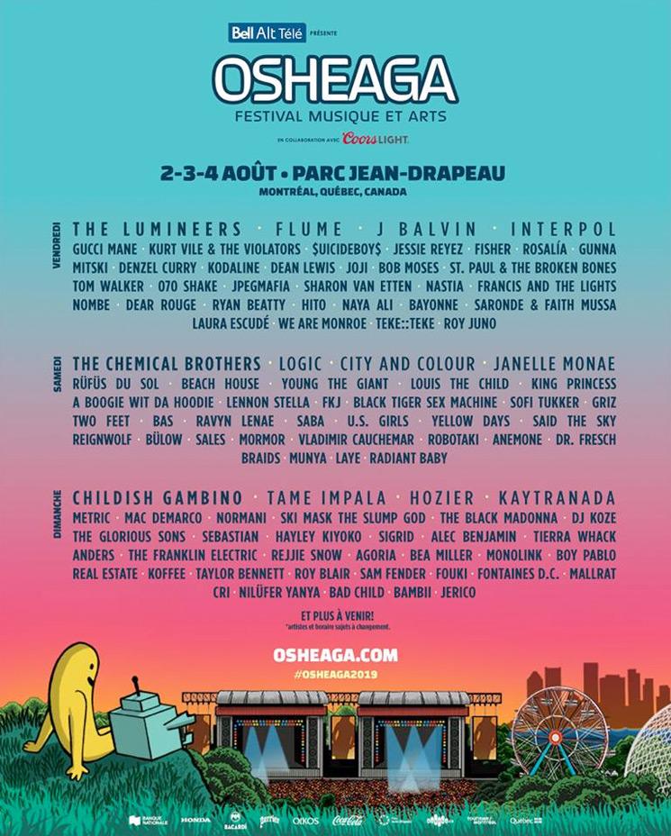 Osheaga Festival Musique et Arts