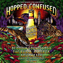 ​Ottawa's Hopped and Confused Gets I Mother Earth, Bedouin Soundclash for 2018 Edition