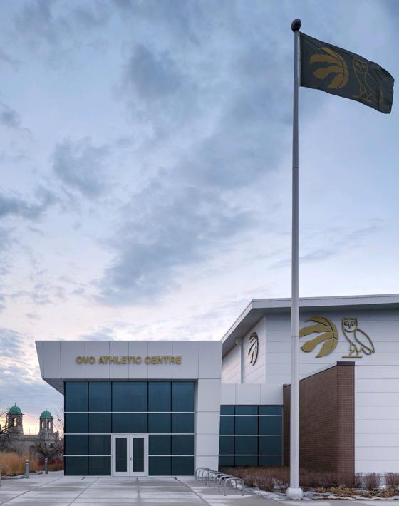 07685b9107bc Drake Renames Toronto Raptors Practice Facility