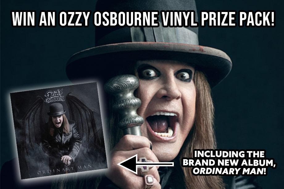 Ozzy Osbourne – Win a Vinyl Prize Pack!