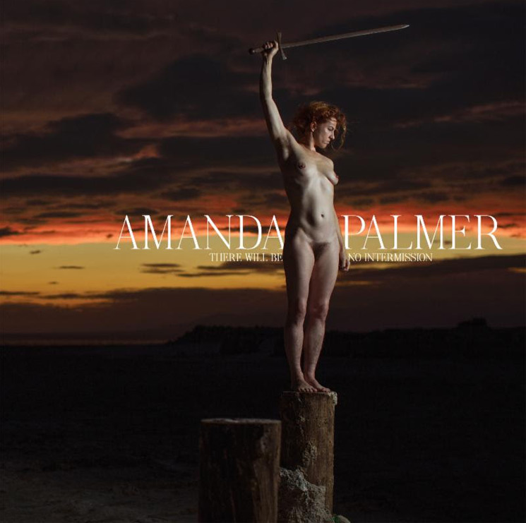 Resultado de imagen de Amanda Palmer - There Will Be No Intermission cover