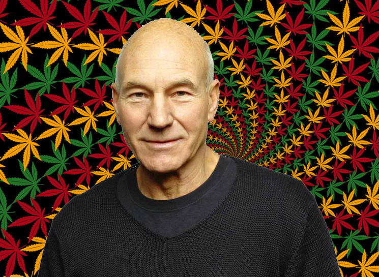 Sir Patrick Stewart Uses Weed Every Day